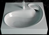 Раковина подвесная RAVAL BUTA 60 (5211600) для стиральной машины